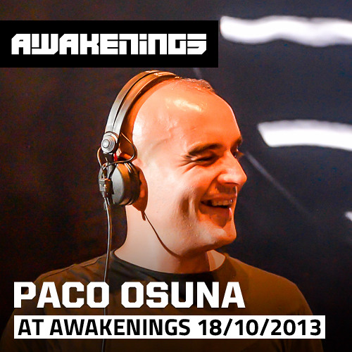 Paco Osuna at Awakenings ADE 18-10-2013