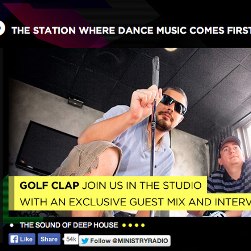 Golf Clap Guestmix & Full Interview - Ministry of Sound Radio