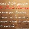 Intervista M° Paolo Ferrarelli - Radio Artista Web
