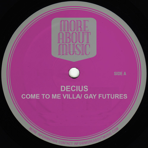 Decius - Gay Futures (Clip) - Forthcoming MAMSW7