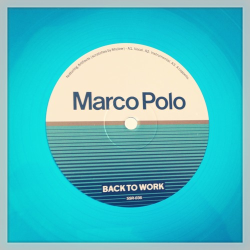 SSR-036 - Marco Polo - Back To Work ft. Artifacts - FREE DOWNLOAD