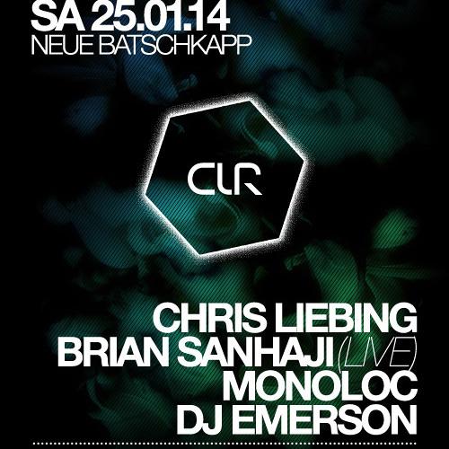 DJ Emerson @ CLR Frankfurt 25.01.2014 @ Neue Batschkapp (warm up set)