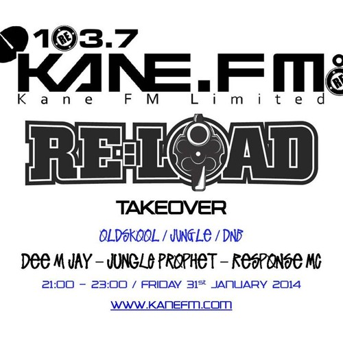 ✪ Dee M Jay Jungle Prophet Response MC Live on Kane FM RE:Load Take over ✪