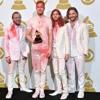 Imagine Dragons and Kendrick Lamar 56th Annual Grammy Peformance