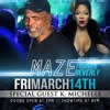 Maze ft. Frankie Beverly and K Michelle Concert Columbus, Ga. 60sec commercial