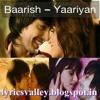 Baarish--------Yariyan----------female