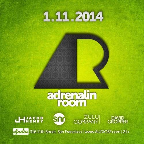Adrenalin Room Radio Episode 050 (Live from Audio Discotech, SF)