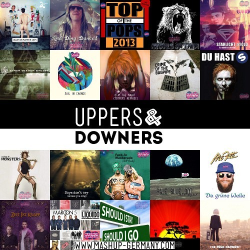 Mashup-Germany - Vol.9 - UPPERS & DOWNERS - CD1 Mix