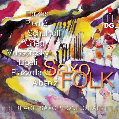 Ugros Farkas Berlage Saxophone Quartet SaxoFOLK MDG