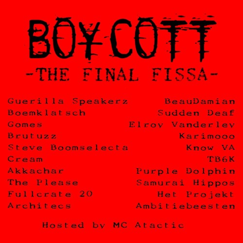 BOYCOTT FINAL FISSA - 22/03/2013
