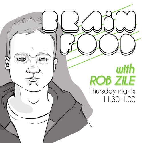 Brain Food with Rob Zile - Live on KissFM - 30-01-2014 - PART 3 - TECHNO