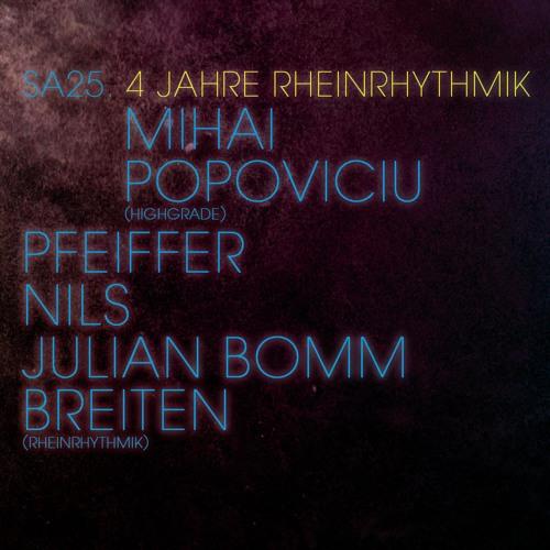 Mihai Popoviciu - Live @ Rheinrhythmik (Gewolbe, Koln) 25.01.2014