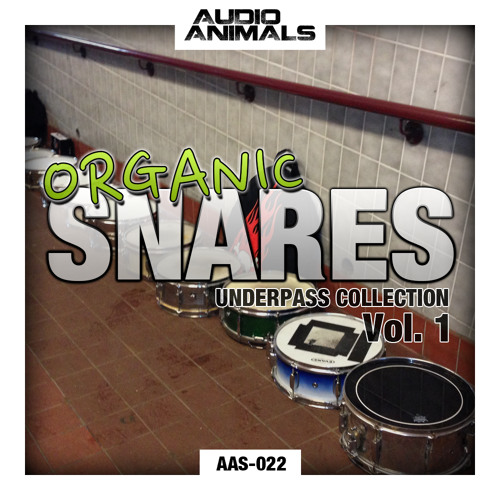 AAS-022 :: Audio Animals - Organic Snares Vol.1 - Underpass Collection - Free Wet Hits