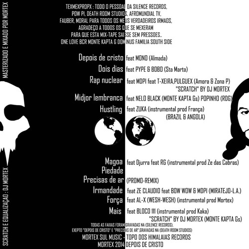MORTEX - DEPOIS DE CRISTO feat MONO (MIX-TAPE 2014 DEPOIS DE CRISTO)