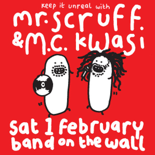 Mr Scruff & MC Kwasi set from Band on the Wall, Manchester, Sat 1 Feb 2014