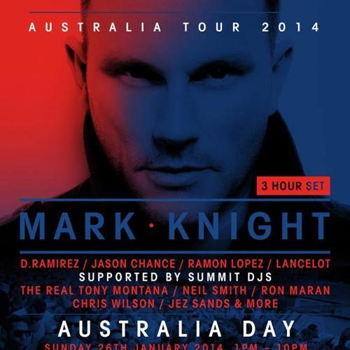 Live at ToolRoom Knights @ Greenwood Hotel, Sydney (26-01-14)