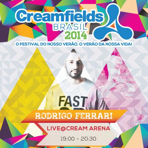 RODRIGO FERRARI LIVE@CREAM ARENA 7PM
