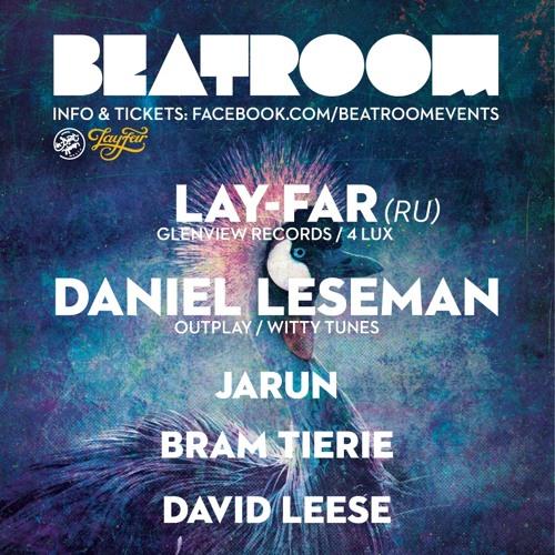 Daniel Leseman @ Beatroom, Amstelhaven - Amsterdam (24-01-2014)