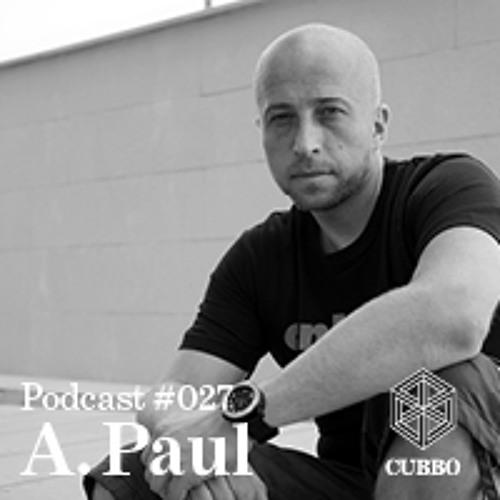 CUBBO PODCAST #027: A.Paul (PT)