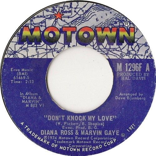 Diana Ross And Marvin Gaye - Don't Knock My Love