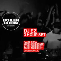 DJ EZ Boiler Room London DJ Set