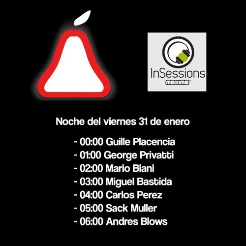 George Privatti - La Pera Records en Maxima FM 31-01-14