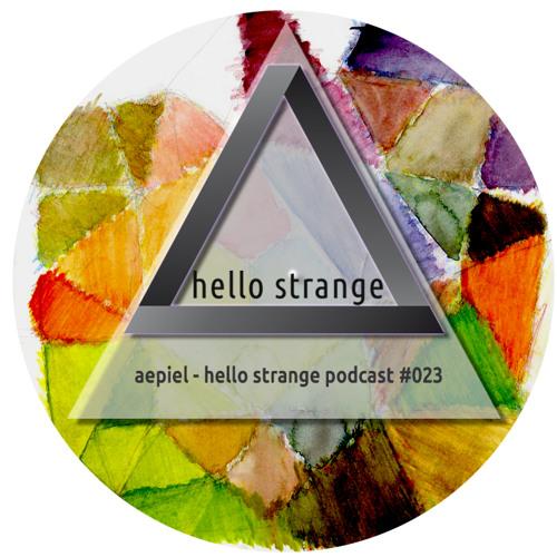 aepiel - hello strange podcast #023