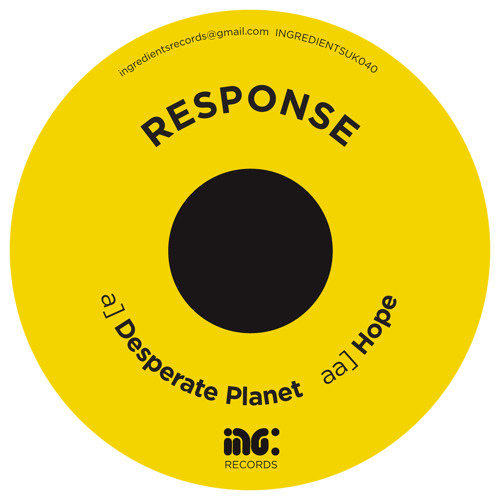 Response 'Desperate Planet' Ingredientsuk040 [edit]  Feb2014