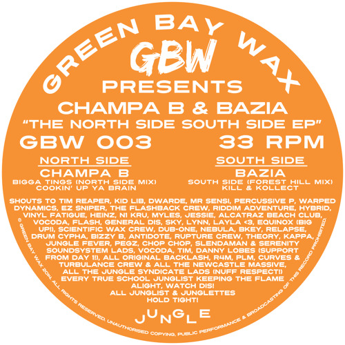 GBW 003 - The North Side South Side EP (Out Now!!) Previews From Test Press