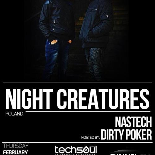 Night Creatures - Techsoul Records Radio Show - Tunnel FM