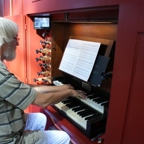 Improvisatie (vrij)Ronald de Jong op orgel Grote Kerk Brielle (liveopname concert 2013)