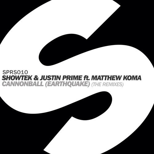 Showtek & Justin Prime ft. Matthew Koma - Cannonball (Earthquake) [Kryder Remix]