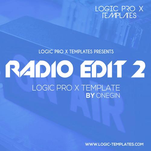 Radio Edit 2 Logic Pro X Template