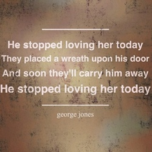 He Stopped Loving Her Today - Alan Jackson (at George Jones' Funeral)