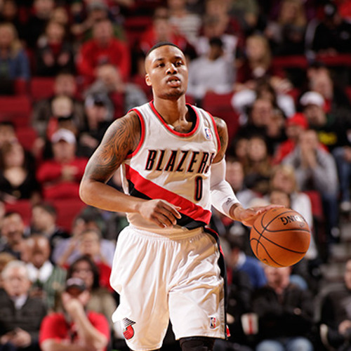 HIGHLIGHT: Damian Lillard four point play against the Pacers