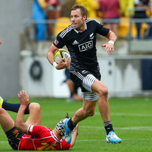 Tim Mikkelson after the All Blacks Seven win against Canada