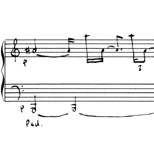 Misterioso (Albumblatt) for Piano (performed by Stefan Schulzki)