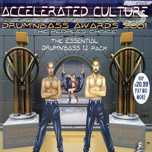 DJ Rap Feat. MC Chickaboo - Accelerated Culture Drum & Bass Awards 2001