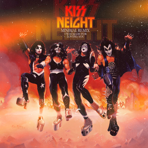KISS - I Was Made For Loving You (Neight Remix) FREE DL LINK