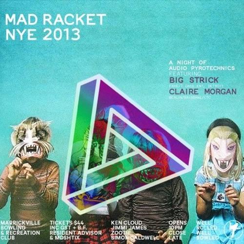 Claire Morgan Live @ MAD RACKET (Sydney) - NYE 2013