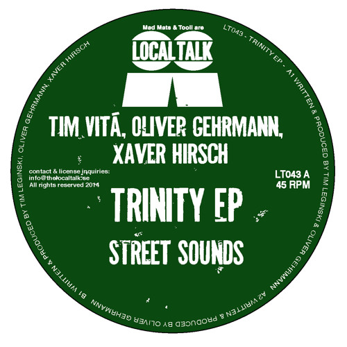 Oliver Gehrmann - Street Sounds (12'' - LT043, Side A2)