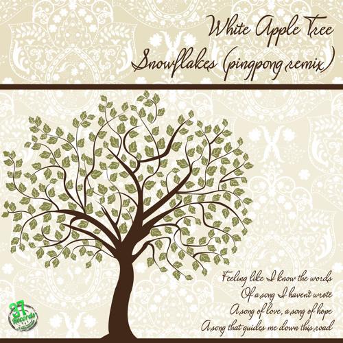 Pingpong, White Apple Tree - Snowflakes