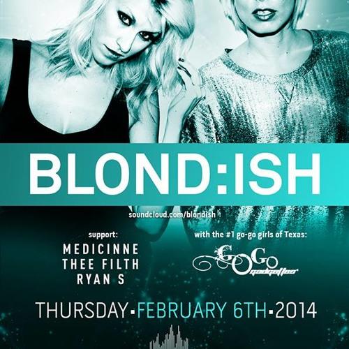 Medicinne @ Kingdom - open for Blond:ish (Live Recording)