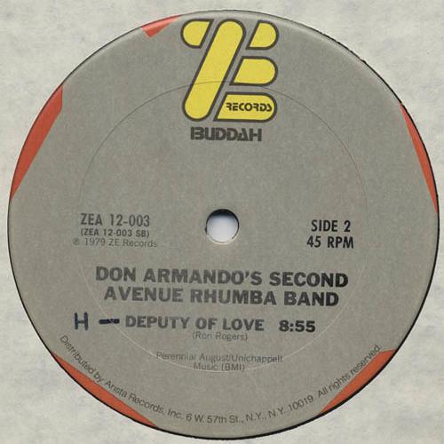 DON ARMANDO'S 2nd AVE RHUMBA BAND - DEPUTY OF LOVE [J*ski Extended] 1979