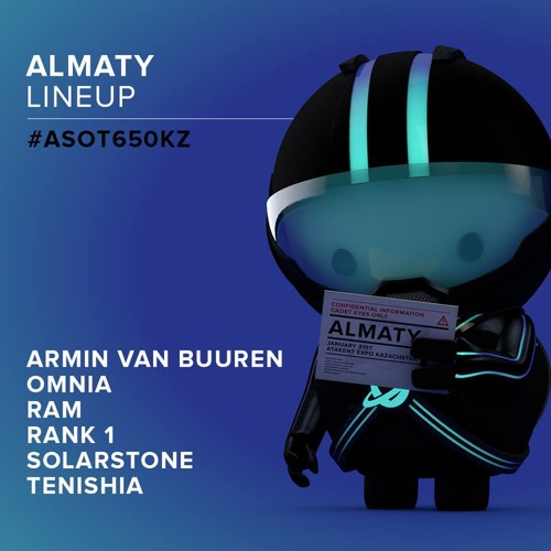 Armin van Buuren - Live ASOT 650 (Almaty) - 31.01.2014 (Exclusive Free) By : Trance Music ♥