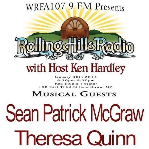 Rolling Hills Radio Ep. 29 - Sean Patrick McGraw and Theresa Quinn