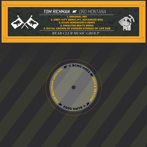 TOM RICHMAN - DRO MONTANA (Ryan Hemsworth Remix)