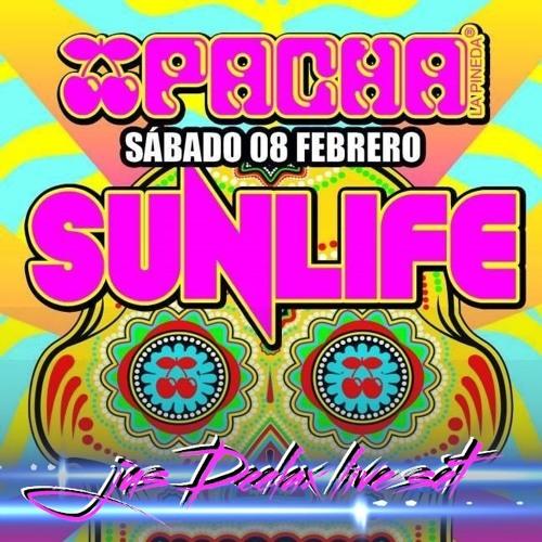 Jus Deelax @ Sunlife 08.02.14 (Pacha, La Pineda, biggest Pacha in the world)