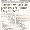 3 New Officers Join BS-OT Police Department (Il Hombre Invisible Cutup For Disquiet0110 - Wsb100)