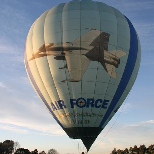 Up up and away... in the Air Force balloon?